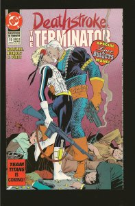 DC Comics Deathstroke the Terminator #11 (1992)