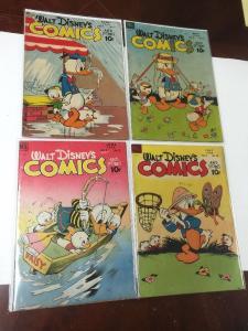Walt Disney's Comics And Stories 91 (5.0) 92 (4.5) 93 (3.5) 94 (4.0)