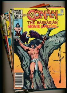Marvel LOT OF 10-CONAN THE BARBARIAN #2, 91-95,104-107 G/VG (PJ117)