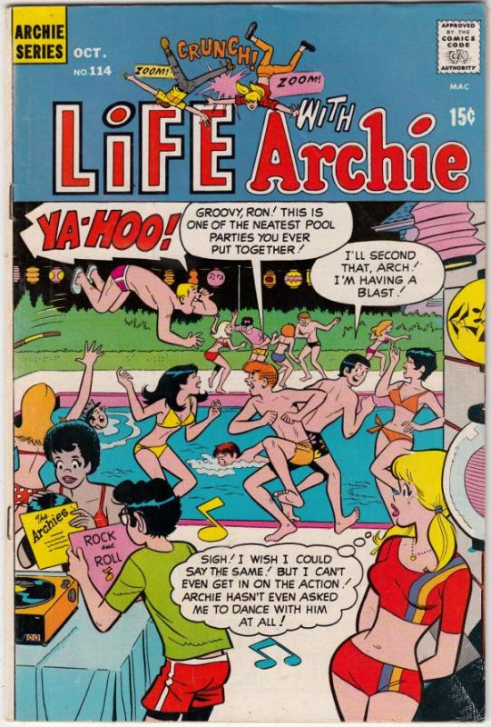 Life with Archie #114 (Oct-71) VF/NM High-Grade Archie, Jughead, Betty, Veron...