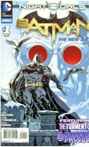 Batman (2nd Series) Annual #1, New 52 8.0/VF (2012)