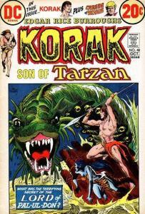 Korak: Son of Tarzan (1972 series) #48, VF- (Stock photo)
