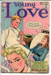YOUNG LOVE #39-JEALOUS NURSE COVER-DC ROMANCE-NICE G/VG