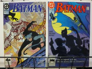 BATMAN 460-461 Sisters In Arms 2-part CATWOMAN story!