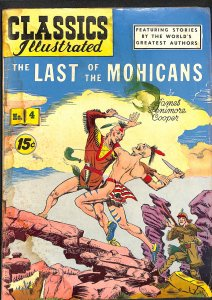 Classics Illustrated #4 (1942)