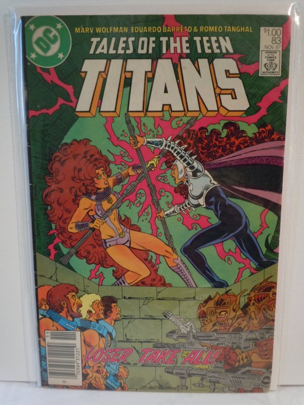 Tales of the Teen Titans #83