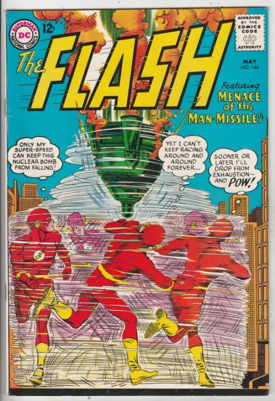 Flash, The #144 (May-64) NM- High-Grade Flash
