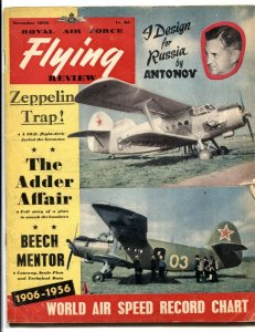 Royal Air Force Flying Review November 1956- Zeppelin Trap