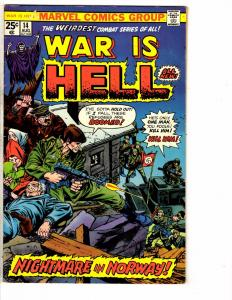 War Is Hell # 14 FN Marvel Comic Book Death Army Navy Marines Air Force J224