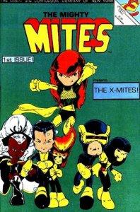 Mighty Mites (1986 series) #1, VF- (Stock photo)