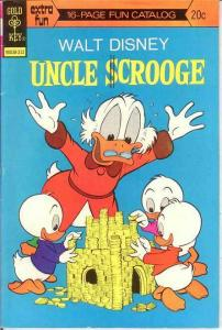 UNCLE SCROOGE 109 F-VF   December 1973 COMICS BOOK