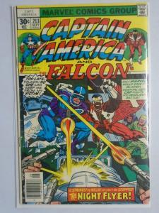 Captain America (1st Series) #213, 3.0 (1977)