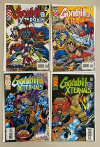 Gambit and the X-Ternals set from:#1-4 Marvel 4 different books 8.0 VF (1995)