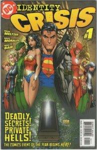 Identity Crisis #1 (2004) BN#12