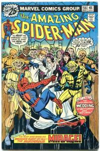 AMAZING SPIDER-MAN #156 1976-MARVEL COMICS vg