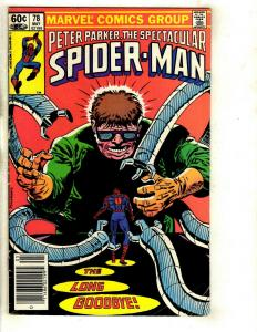Lot of 7 Spider-Man Marvel Comics # 78 79 81 82 83 84 85 EK4
