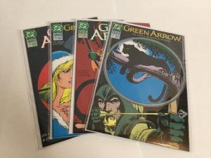 Green Arrow 71 72 73 74 Lot Set Run Vf-Nm Very Fine-Near Mint