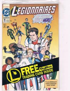 Legionnaires #1 NM DC Comics Comic Book JLA Braniac 5 Apr 93 DE39 AD12