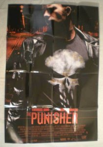 PUNISHER Promo Poster, Thomas Jane, Movie, 2004, Unused, more in our store, b