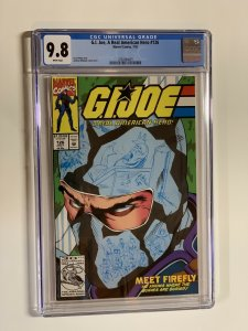 G.i. Joe A Real American Hero 126 Cgc 9.8 Wp Marvel