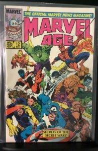 Marvel Age #12 (1984)