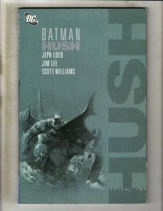 Batman Hush VOL. # 2 DC Comics TPB Graphic Novel Comic Book Robin Joker J361