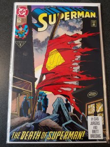SUPERMAN #75 DEATH OF SUPERMAN