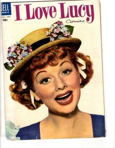 I Love Lucy # 5 FN- 1955 Dell Golden Age Comic Book Photo Cover TV Show JL17