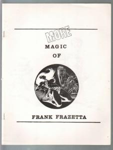 More Magic of Frank Frazetta 1970's-reproduces Frank Frazetta art & record cover