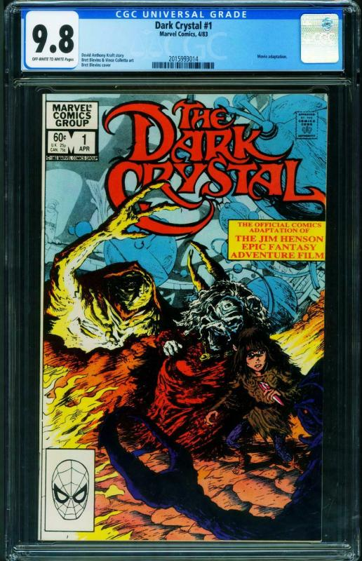 Dark Crystal #1 CGC 9.8 1983 comic book Marvel 2015993014
