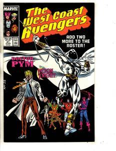 10 West Coast Avengers Marvel Comic Books # 21 22 23 24 25 26 27 28 29 30 CR42