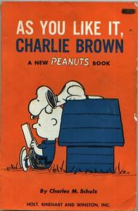 Peanuts - As You Like It, Charlie Brown (1st printing, 1963)