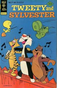 Tweety and Sylvester (1963 series) #63, Fine (Stock photo)