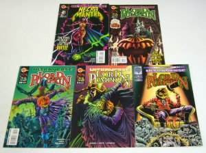 Lord Pumpkin/Necromantra #0 & 1-4 VF/NM complete series - kyle hotz ultraverse