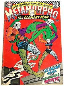 METAMORPHO THE ELEMENT MAN#13 VG 1967 DC SILVER AGE COMICS