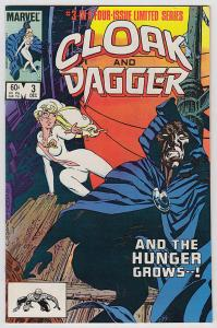 CLOAK and DAGGER #3, FN/VF, 1983, Mantlo, more Marvel in store