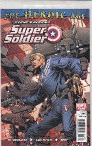 Steve Rogers: Super Soldier #3 (2010)
