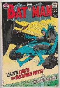 Batman #219 (Feb-70) VF High-Grade Batman