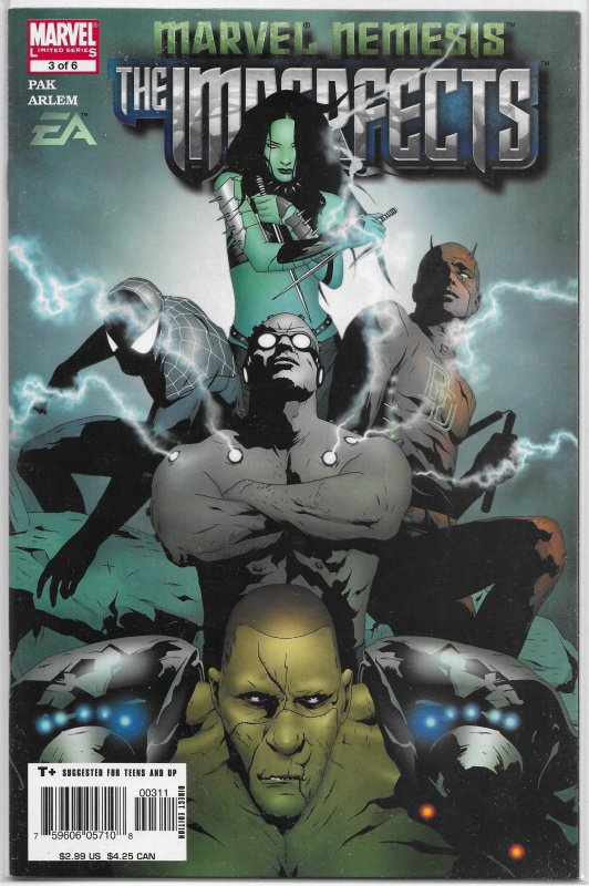 Marvel Nemesis  : Imperfects   #3 of 6 VF