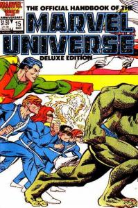 Official Handbook of the Marvel Universe (1985 series) #15, VF+ (Stock photo)