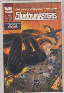 Shadowmasters #3 (1989)