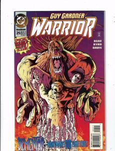 Lot of 2 Guy Gardner WARRIOR DC Comic Books #25 26 MS11