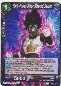 Dragon Ball Super CCG - Miraculous Revival - Dark Power Black Masked Saiyan
