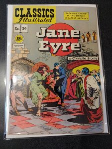 CLASSIC ILLUSTRATED #39 GOLDEN AGE VF-