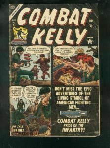 COMBAT KELLY #27 1954-ATLAS COMICS-KOREAN WAR-DAVY BERG-good/very good G/VG