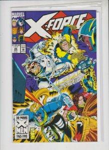 X-FORCE # 20 1992 MARVEL / UNREAD / HIGH