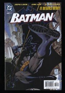 Batman #608 VF+ 8.5 Hush Begins!