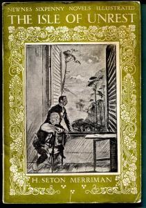 Isle of Unrest-Seton Merriman-1920's-British Digest/Dime Novel-pulp thrills-VG