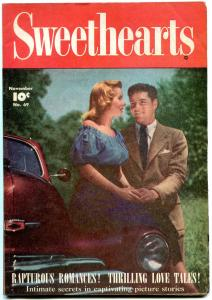 Sweethearts #69 1948- Golden Age Romance- Glenn Ford- Photo cover  FN-
