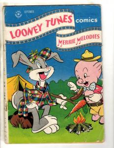 Looney Tunes & Merrie Melodies Comics # 59 VG/FN 1946 Dell Comic Book Bunny JL9